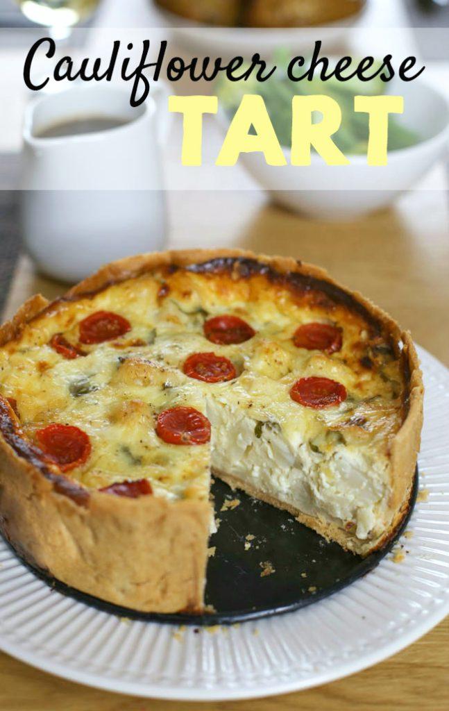 amuse your bouche cauliflower and cheese tart