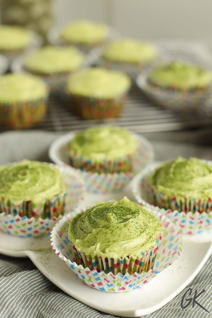 green velvet match cupcakes