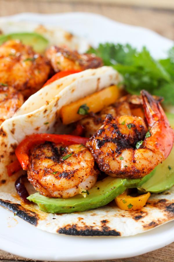 sheet pan prawn fajitas weekly meal plan week 13