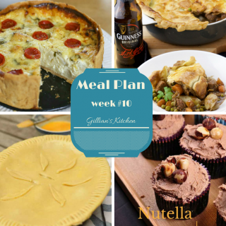 weekly meal plan week 10 collage