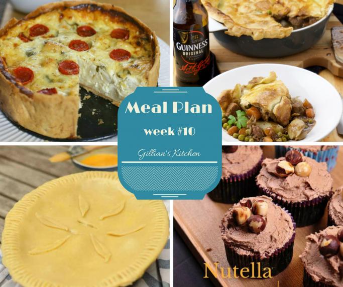 weekly meal plan week 10 collage