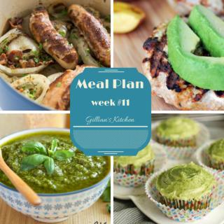 Weekly Meal Plan (Week 11)