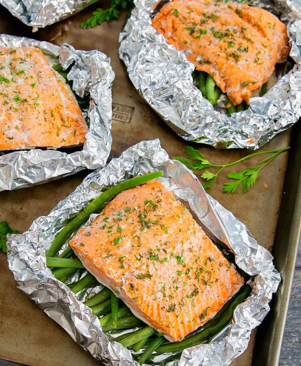 ranch foil salmon weekly meal plan week 14