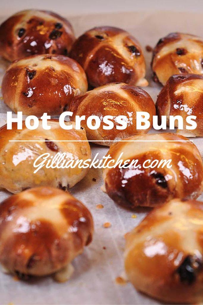 Hot Cross Buns pin