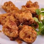 Italian Fried Chicken chicken morsels fried landscape close up