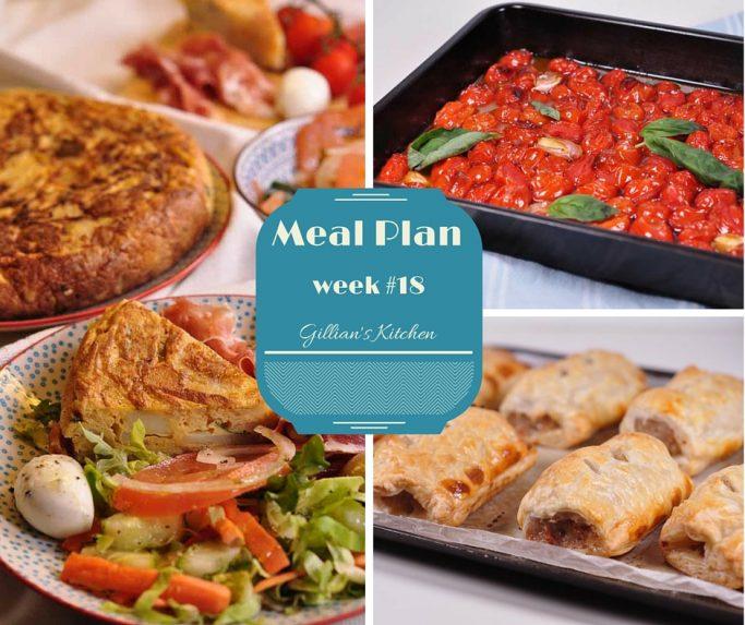 weekly meal plan  18  gillian u0026 39 s kitchen simple no fuss