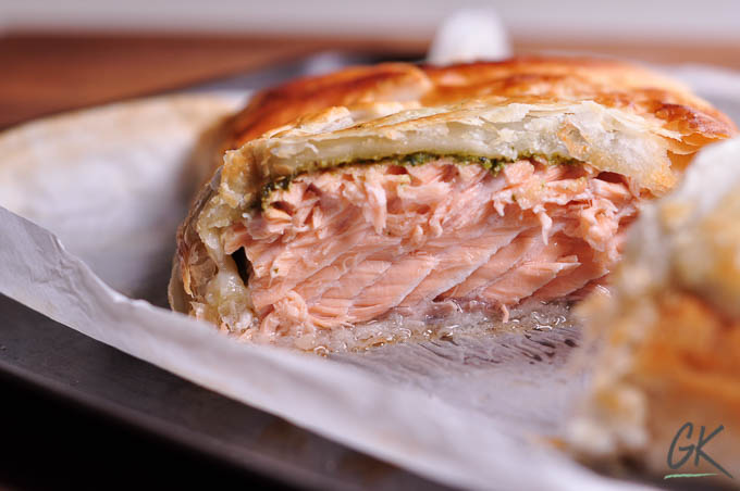 Pesto Salmon En Croute Salmon In Pastry An Easy 30 Minute Dinner