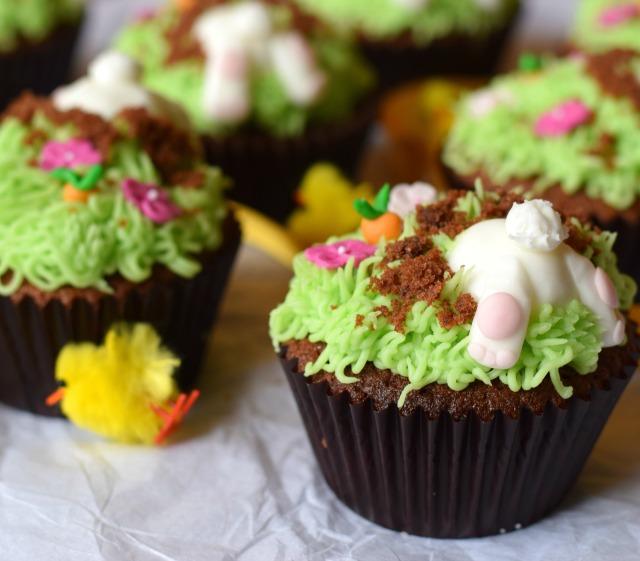 Bunny butt cupcakes weekly meal planner week 13