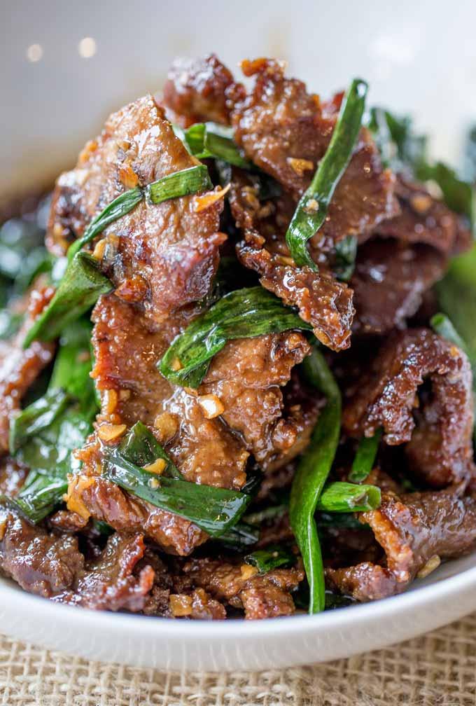 Mongolian beef weekly meal plan week 13