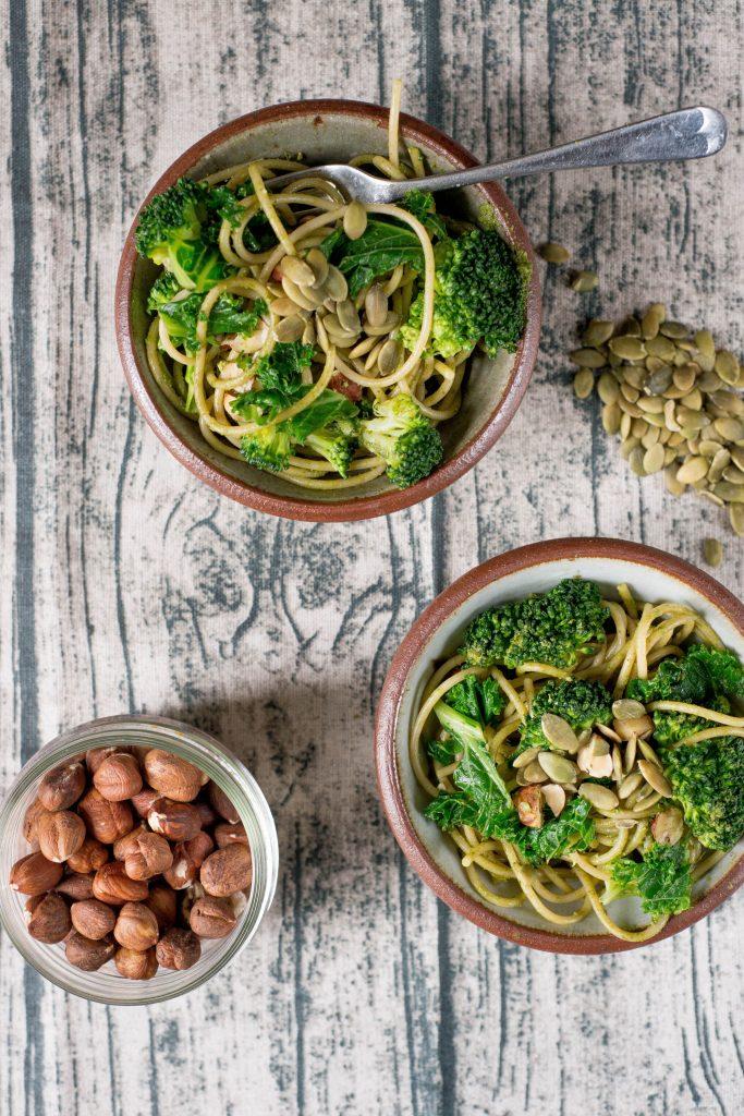 meal plan week 13 spring green spaghetti